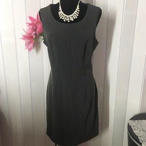 T. Milano gray dress